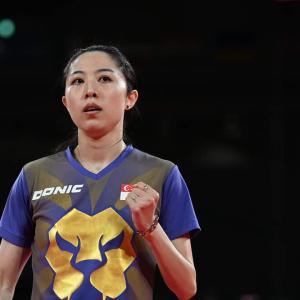 シンガポールの卓球選手が石川佳純選手に勝った!