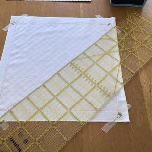 【刺し子】斜め格子のサイズを間違えたせいでピタゴラスの定理へ