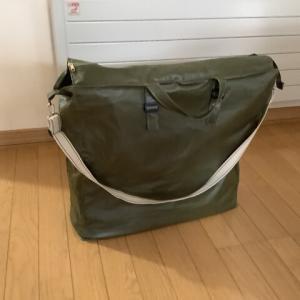 【ソーイング】立たないバッグを立たせた、紙袋活用法がヒント
