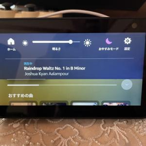 【Echo Show 5】時計を常時表示する方法