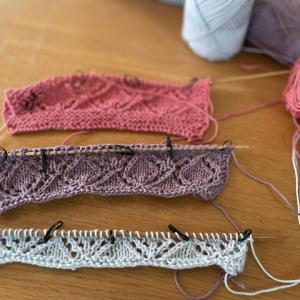 【ハンカチを編む】失敗した糸と私の編みの緩さ