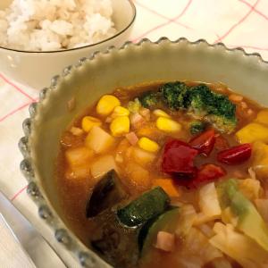 『ベジ活スープ食』レビュー!トマト風味が美味しい!ミネストローネ実食!【ウェルネスダイニング】