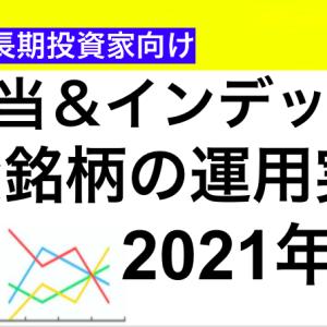 【運用実績】2021年8月現在の保有銘柄の損益状況