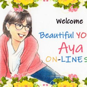 【Beautiful YO-GA Aya Online salon4月日程】
