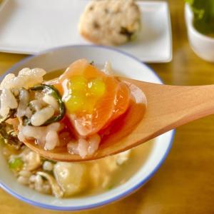 【レシピ番外編】炊き込みご飯と塩麹付けのダシ茶漬け
