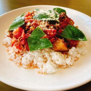 【レシピ】🍅夏野菜ライス🍆