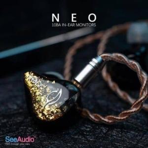 【HiFiGOニュース】最新の10BAフラッグシップIEM「SeeAudio Neo」がリリースされました