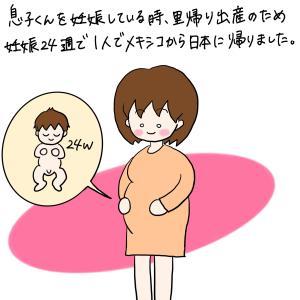 妊娠7ヶ月でメキシコから日本に帰った時の話〜出発編〜