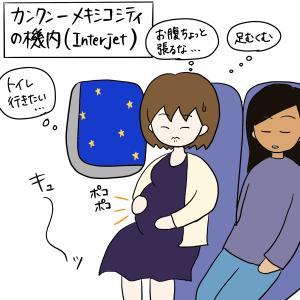 妊娠7ヶ月でメキシコから日本に帰ったときの話〜ロングフライト&乗り継ぎ編〜
