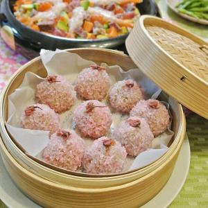 ひな祭り なんでもちらし寿司とピンクのメニュー