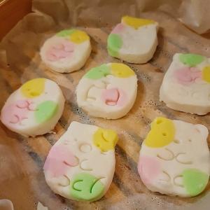 ひな祭り 子どもと作るクッキー型で簡単おこしもの