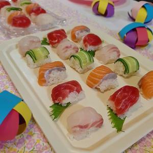 ひな祭り 簡単キューブ寿司でちらし寿司以外のメニューに