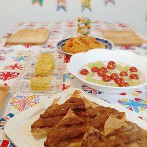 こどもの日 う○こ春巻きと野菜スティックジェンガで子どもが喜ぶパーティ