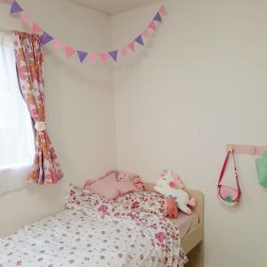 超簡単ずぼら手作りフェルトガーランド 子供部屋やパーティに