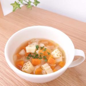 ABCスープって何? ダイソーのキティちゃんマカロニで作ってみた