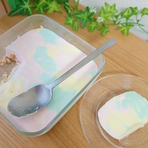 夏休みのおやつに 簡単カラフルレアチーズケーキ