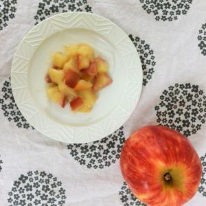 秋のおやつを低糖質で!りんごとシナモンの鬼まんじゅう