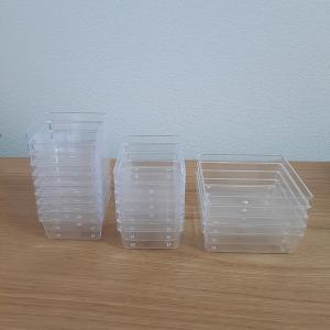透明の仕切りで誰でも重箱おせちの盛り付けが簡単に!
