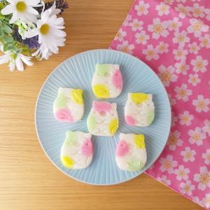 ひな祭り 今年もクッキー型で愛知の祝い菓子おこしものを手作りしました