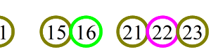 LOTO6全当選番号(1631回昇順並び)