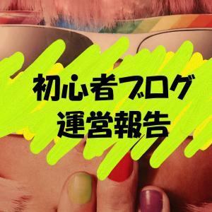 【ブログ】初心者ブログ運営報告