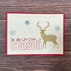 メリークリスマス&ステッチダイを使ってみました