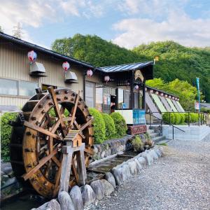 岐阜県美濃市の美濃観光ヤナで鮎の絶品フルコースを