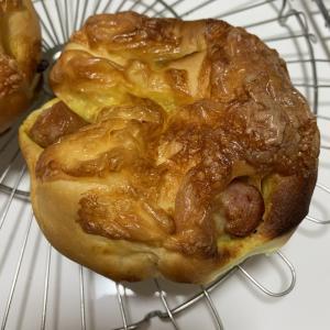 カレーウインナーパン作りました(*^^*)