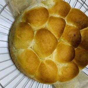 塩パンのちぎりパン♪