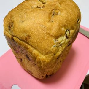 枝豆とベーコンの食パン♪