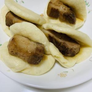 久しぶりに角煮まんを作りました(*^^*)