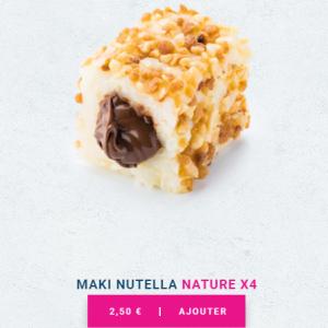 フランスでチョコレート寿司にチャレンジ『PLANET SUSHI』創作和食?
