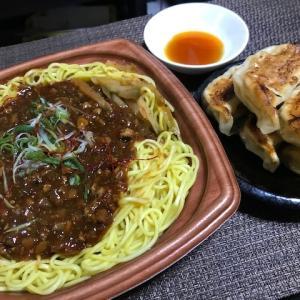 ジャージャー麺と餃子~コンビニ