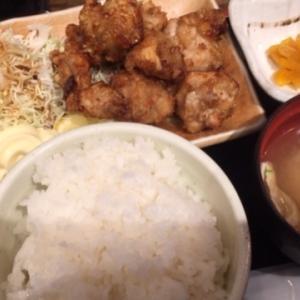 500円の唐揚げ定食が最強!