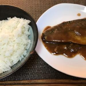 サバの味噌煮~自宅にて