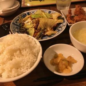 豚肉の味噌炒め定食・油淋鶏~万豚記