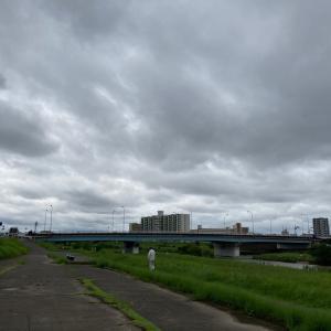 梅雨の合間にウォーキング5日目