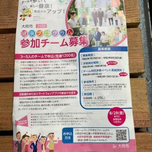 ウォーキング16日目 大府市健康プログラム