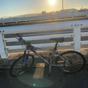 早朝サイクリング&ポケモンコミュニティ