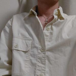 ネックレスに合わせシャツを購入しました。
