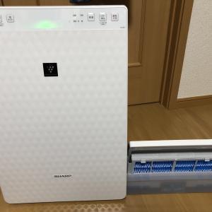 【空気清浄機】プラズマクラスターの空気清浄機をネットで購入した