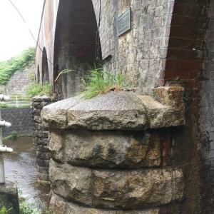 三石金剛川橋梁(煉瓦アーチ)