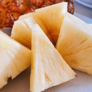 【噂のパイン】食べてみよう!台湾パイナップル
