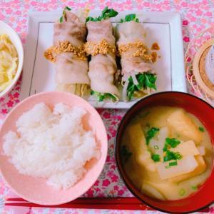 【料理】レンジでできる豆苗の豚肉巻き☆