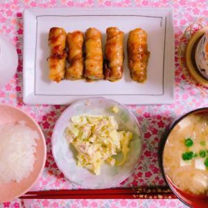 【料理】白ねぎの豚バラ巻き☆