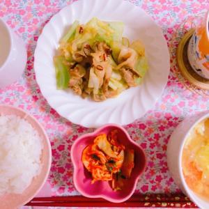 【料理】キャベツと豚バラの回鍋肉☆