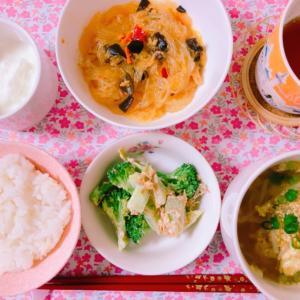 【料理】永谷園の麻婆春雨☆