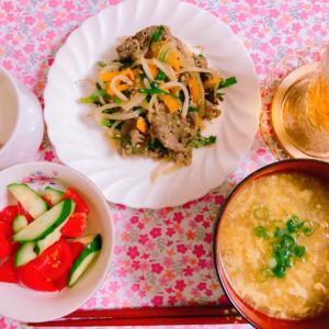 【料理】プルコギとたまごスープ☆