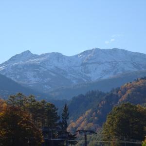 雪山になった乗鞍岳 前編
