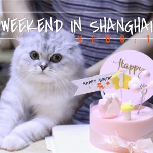 【VLOG】上海週末遊vlog|コナンカフェに行ってきた|レトロ中国を体感|祝・1歳|オーダースーツを作る|夏!花火!@上海ディズニー|赤く染めた七夕(鍋)|#11